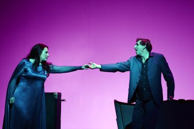 Ruth-Maria Nicolay (Isolde), Andreas Schager (Tristan)