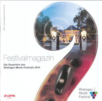 Programmheft mit Schloss Johannisberg