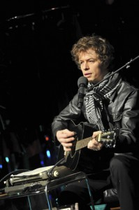 Florian Hertweck als Bob Dylan