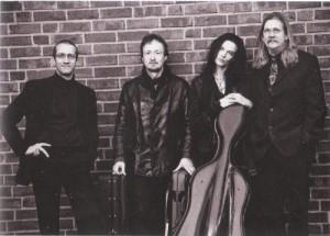 V.l.n.r.: Michael Behringer, Daniel Sepec, Hille perl und Lee Santana (im Konzert vertreten von Michael Freimuth)