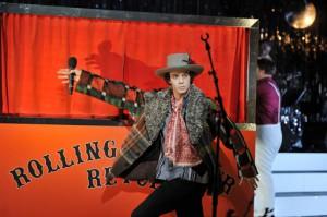"""Florian Hertweck als Dylan auf der """"Rolling Thunder Revue"""""""
