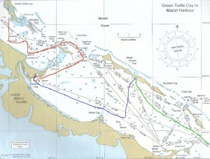Von Green Turtle Cay nach Hope Town