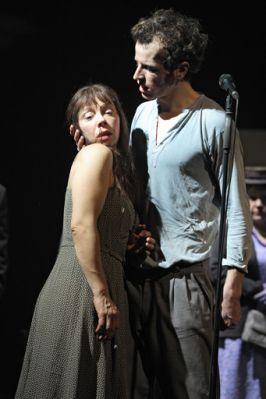 Maika Troscheit (Marie), Simon Köslich (Woyzeck)