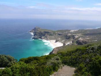 Das Kap der Guten Hoffnung, von Kap Point aus gesehen