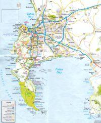 Plan von Kapstadt (bitte zoomen)