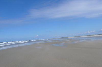 Der endlose Strand von Borkum