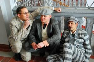 v.l.n.r.: Marcel Schüler (Pfeiffer), Markus Hill (Knebel), Axel Raether (Rosen)