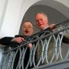 v.l.n.r.: Ralph Dillmann (Dir. Knauer), Rainer Poser (Prof. Crey)