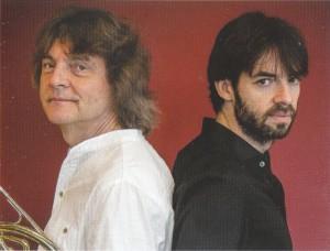 Arkady Shilkloper (l.) und Vadim Neselovsky