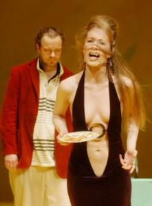 Hanns Jörg Krumpholz und Katharina Waldau