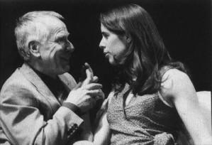Bernd Ripken (Hubert) und Franziska Geyer (Sonja)