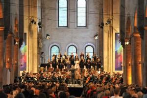 Das hr-Sinfonieorchester in der Basilika von Kloster Eberbach
