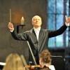Ehrendirigent Paavo Järvi bei der Arbeit