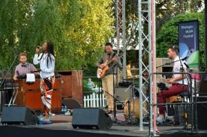 Sabrina Starke und ihre Band