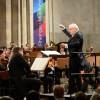 Justus Frantz am Dirigentenpult