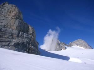 Der Dachstein-Gletscher