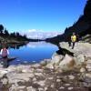 Der Dachstein  im Spiegelsee