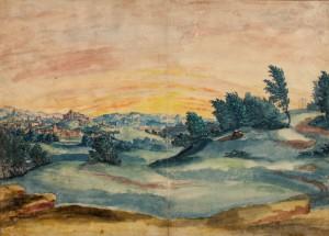 "Wolf Huber: ""Landschaft"""