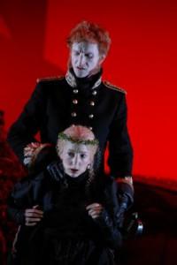 Volker Muthmann und Iris Melamed (Prinzessin Natalie)