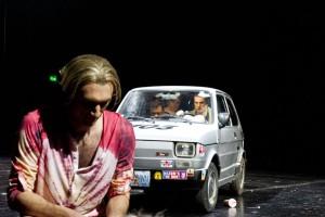 Julius Bornmann (Tybalt) Stafen Schuster (Benvolio) und Nicaolas Fethi Türksever (Mercutio)
