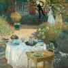 """Das zweite """"Mittagessen"""" - """"dekorative Tafel"""" von 1873"""