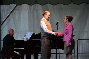 Rhodri Britton, Klavier Michael Quast, Sabine Fischmann