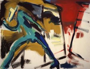 """Rainer Fetting: """"Van Gogh und Mauer Sonne"""" (1979)"""