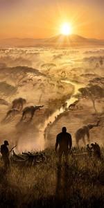 So mag es in der frühzeit des Menschen in Afrika ausgesehen haben