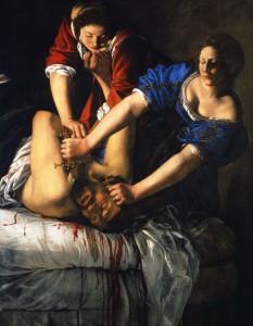"""Artemisiaq Gentileschi: """"Judith und Holofernes"""""""