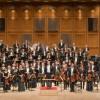 Das Orchester des Staatstheaters Darmstadt mit GMD Will Humburg am Pult