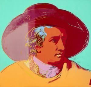 "Andy Warhol: ""Johann Wolfgang von Goethe"", 1982"