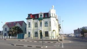 Deutsche Häuser in Swakopmund