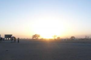 Sonnenaufgang am Sossusvlei