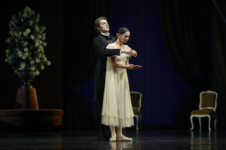 Onegin und Tatjana; Copyright Enrico Nawarth
