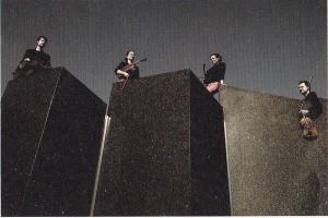 Vier Musiker auf Beethoven-Höhe