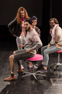 Yana Robin la Baume, Frederik Bott , Nicolas Fethi Türksever, Florian Federl