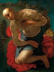 Jacopo Pontormo (1494–1557) Der Hl. Hieronymus als Büßer, um 1528/29