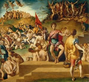 Jacopo Pontormo (1494–1557) Martyrium der Zehntausend, um 1529/30