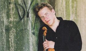 Violinist Andrej Bielow