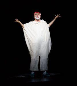 Sangmin Lee als Rigoletto