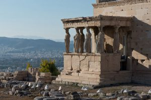 """Das """"Erechtheion"""" auf der Akropolis"""