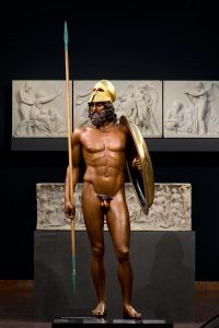 "Statue ""Riace A"", die den Erechtheus darstellt"