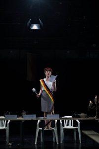 Maria Radomski als Erstchargierte