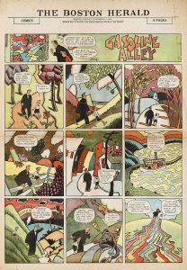 """Frank King: """"Gasoline Alley"""""""