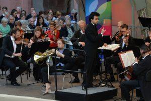 Felix Klieser, Horn Württembergisches Kammerorchester Heilbronn Ruben Gazarian, Leitung