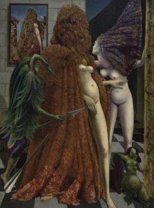 """Max Ernst """"Einkleidung der Braut"""""""