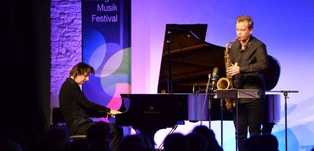 Michael Wollny (piano) Marius Neset (saxophone)