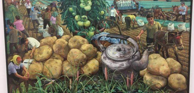 Ironisch-surreale Verfremdung der Landwirtschaft