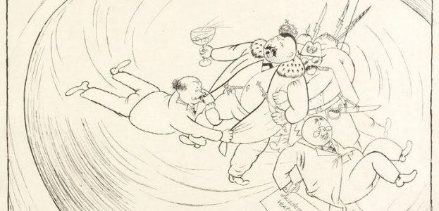 GEORG GROSZ, DEMOKRATIE, 1919