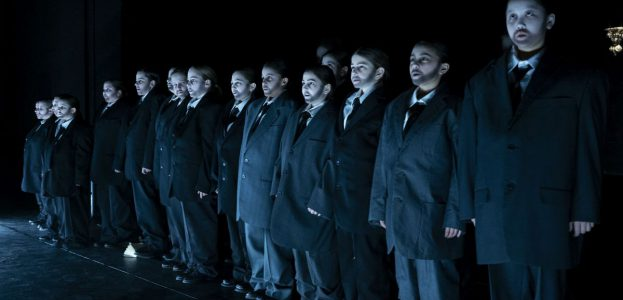 Der Kinderchor des Staatstheaters